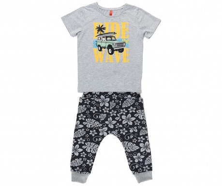 Sada tričko a nohavice pre deti Baggy Tropic Adventure