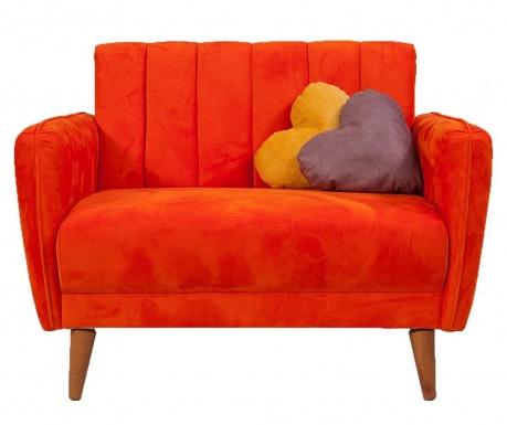 Fotoliu extensibil Libre Orange