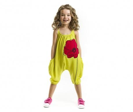 Salopeta fara maneci copii Poppy 4 ani