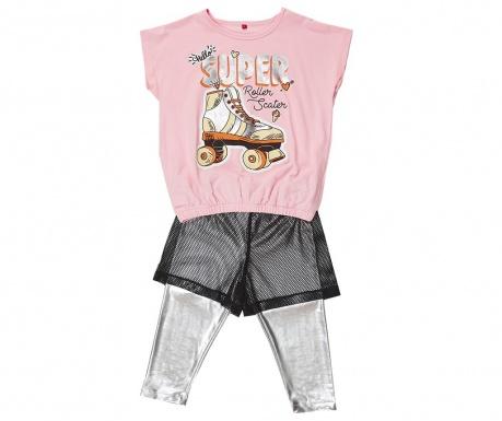 Sada tričko a legíny pre deti Roller Skate
