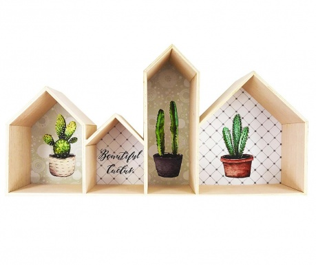 Raft de perete Beautiful Cactus