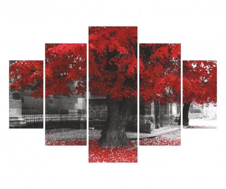 Set 5 tablouri Falling