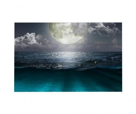 Tablou cu LED Night Sea 45x70 cm