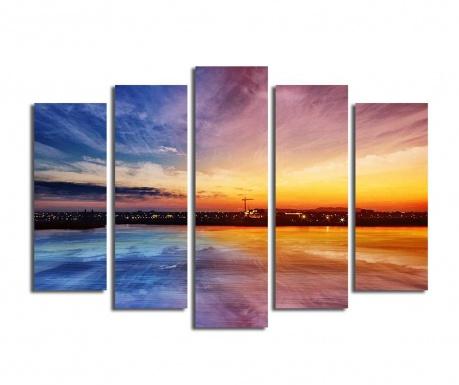 Set 5 tablouri Rainbow