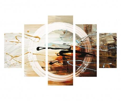 Set 5 tablouri Circle