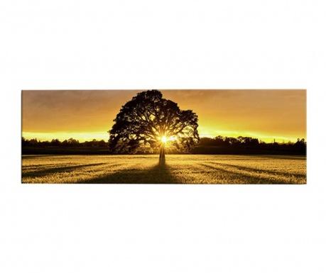 Tablou cu LED Sunset 30x90 cm