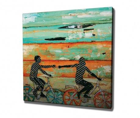 Tablou Bycicle 45x45 cm