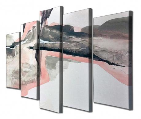 Set 5 tablouri Pink