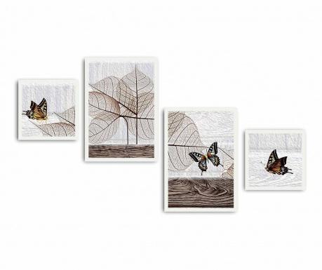 Set 4 tablouri Soft