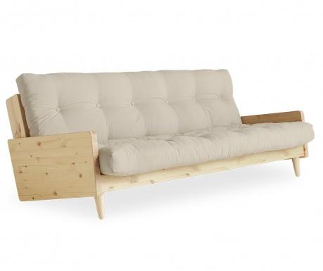 Sofa extensibila Indie Natural and Dove Grey