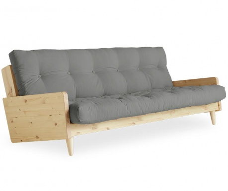 Sofa extensibila Indie Natural and Grey