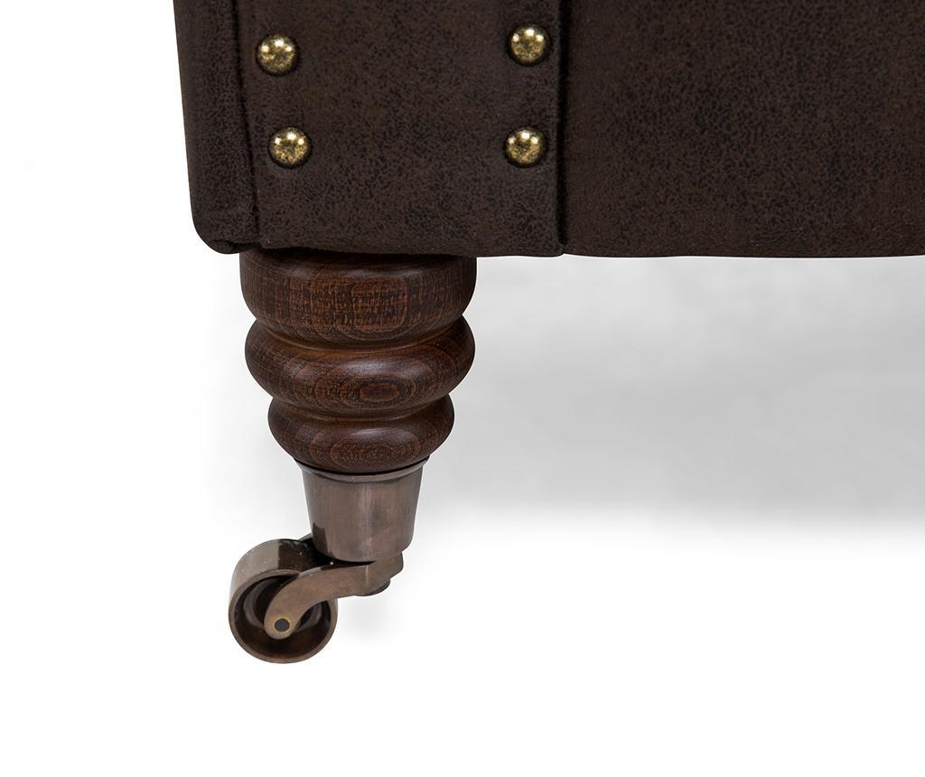Kanapa trzyosobowa Chesterfield Vintage Brown