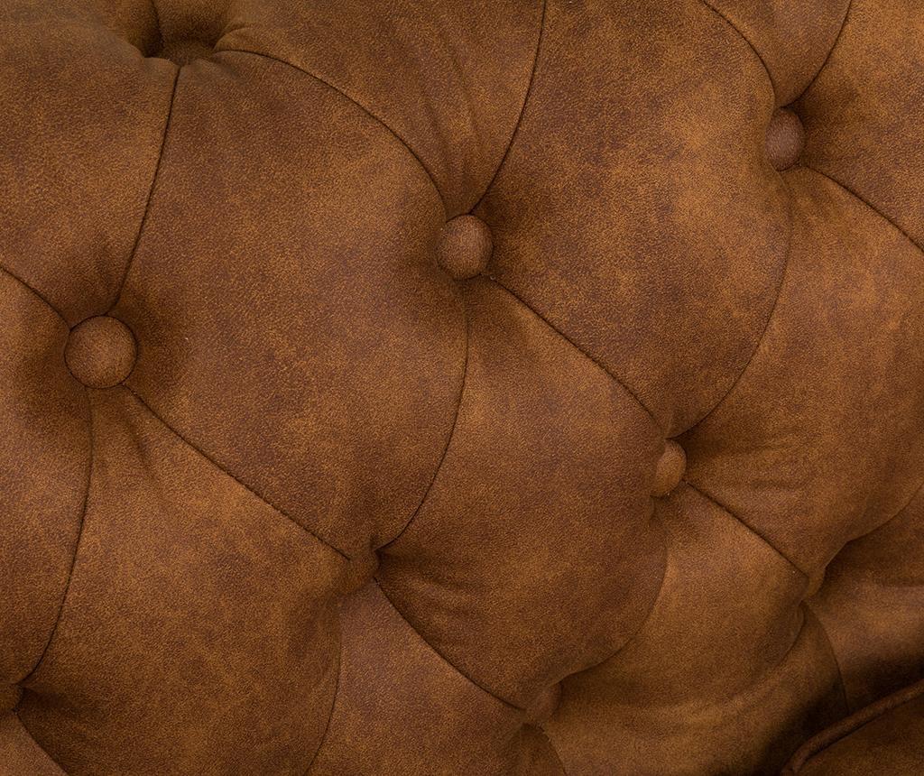 Chesterfield Vintage Cognac Kétszemélyes kanapé