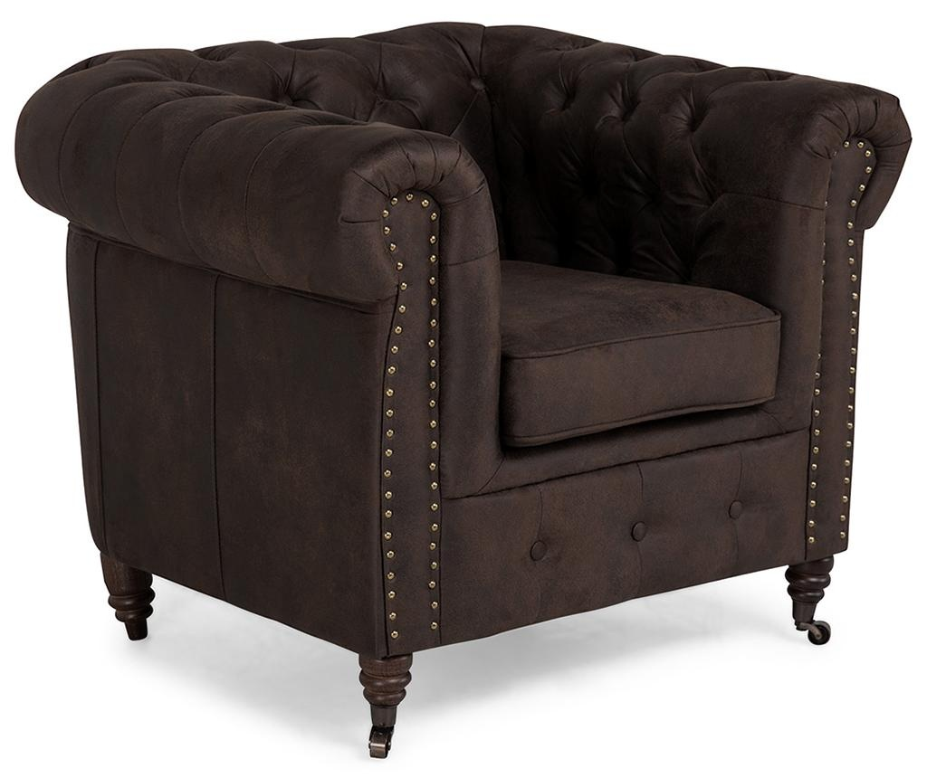 Chesterfield Vintage Brown Fotel