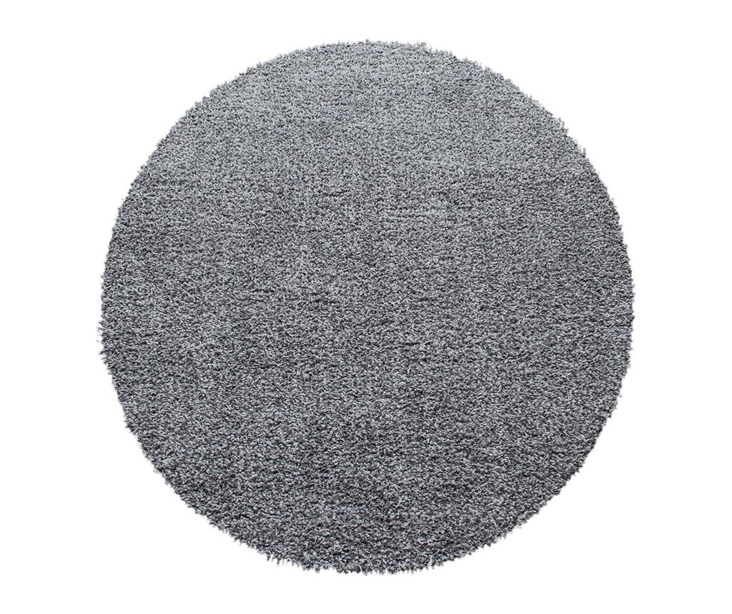 Koberec Ancona Round Light Grey 120 cm