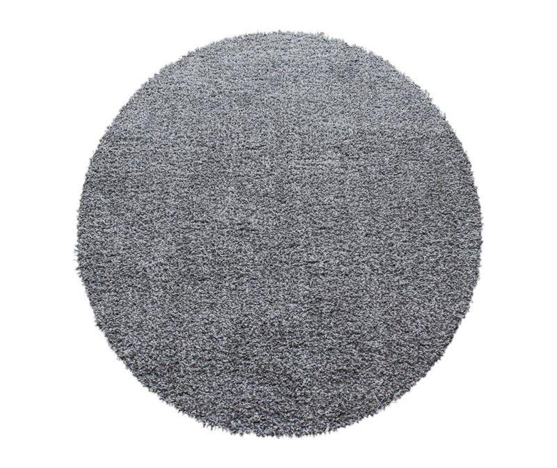 Koberec Ancona Round Light Grey 120 cm