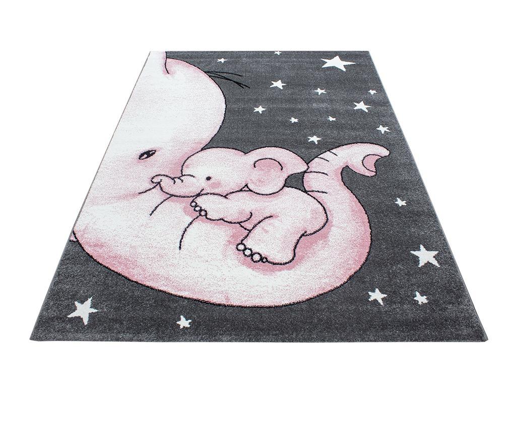 Covor Baby Elephant Pink 160x230 cm