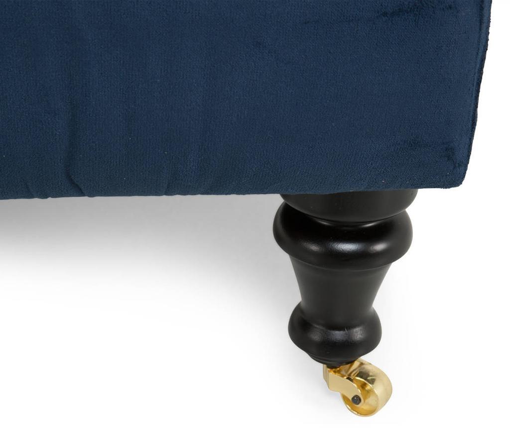 Desna ležaljka za dnevni boravak diYana Petrol Blue