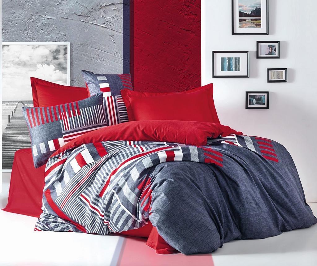 Posteljina King Satin Supreme Roxy Red 200x220