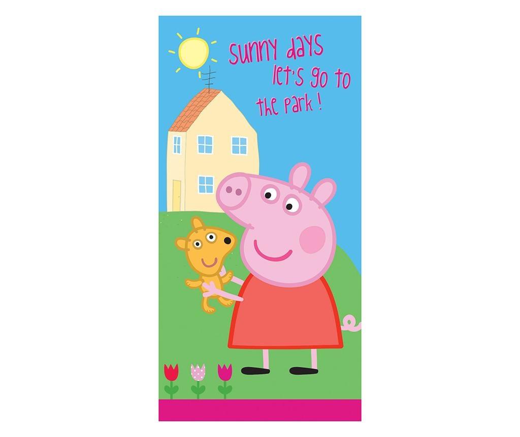 Prosop de plaja Peppa Pig Sunny Days 70x140 cm