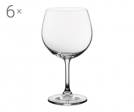 Set 6 kozarcev za vino Royal Martina 600 ml