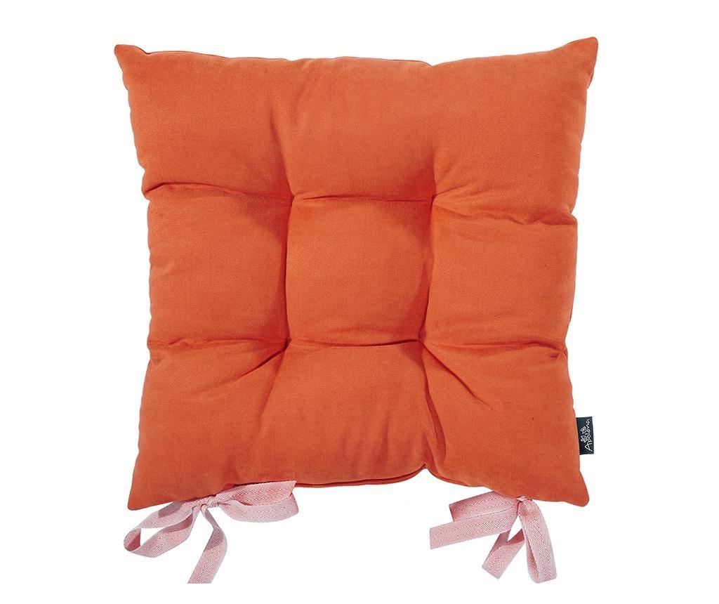 Bronx Orange Székpárna 37x37 cm