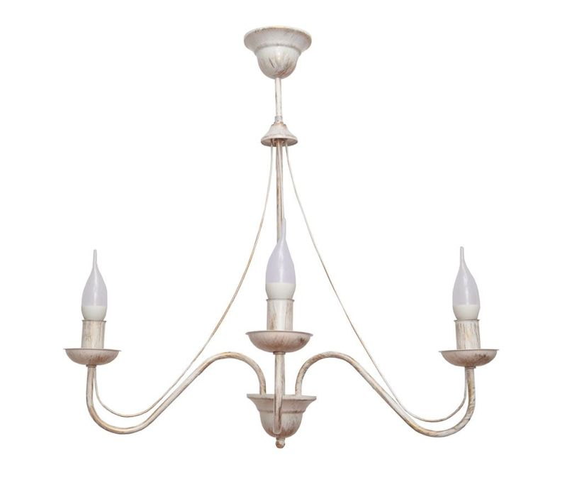Candelabru Malbo White Three
