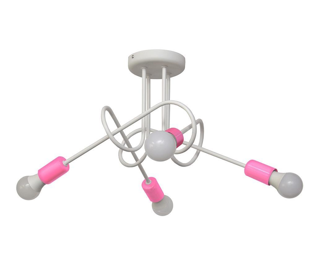 Lustra Oxford Oda Four White Pink