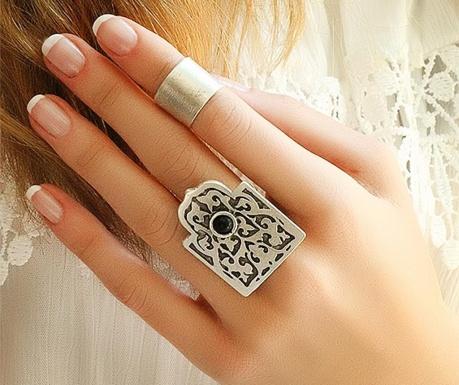 Σετ 2 δαχτυλίδια Boheme Orient