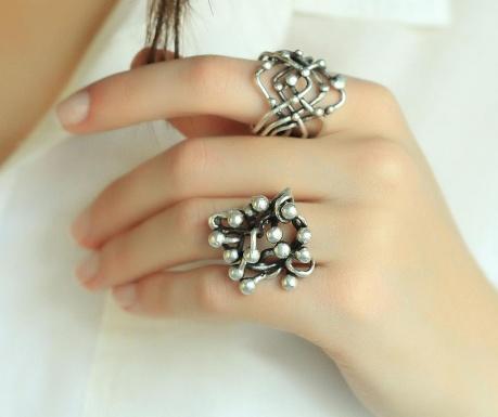 Комплект 2 пръстена Boheme Knit