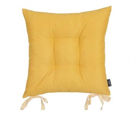 Възглавница за седалка Bronx Yellow 37x37 см