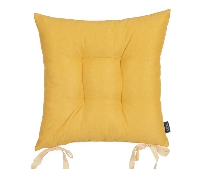 Jastuk za sjedalo Bronx Yellow 37x37 cm