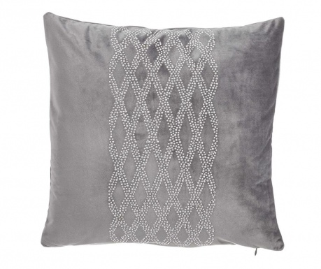 Perna decorativa Glam Stone Pattern Grey 43x43 cm