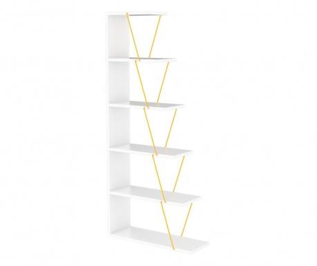 Corp biblioteca Tars White Yellow