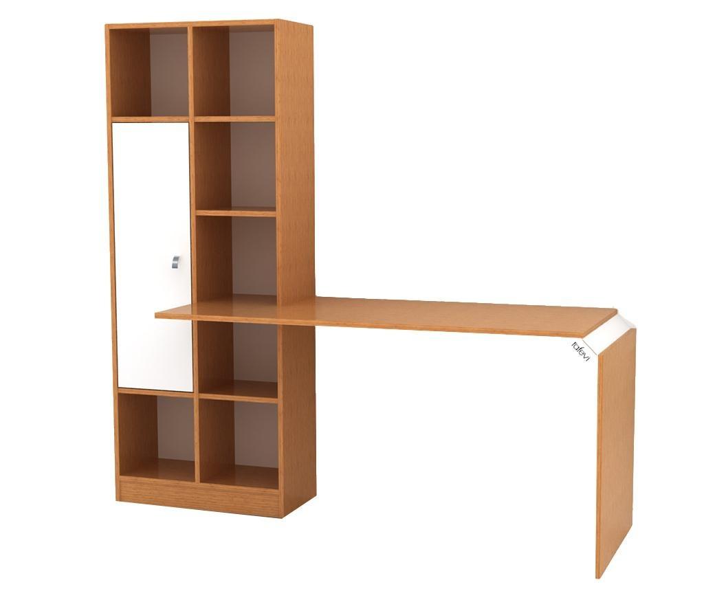 Opus Íróasztal könyvespolccal