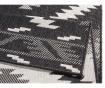 Covor de exterior Malibu Black Cream 80x250 cm
