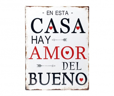 Стенна декорация Casa Amor