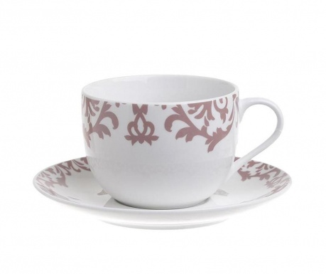 Сервиз 6 чашки и 6 чинийки за чай India