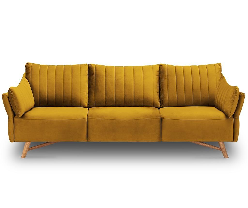 Canapea 3 locuri Elysee Gold