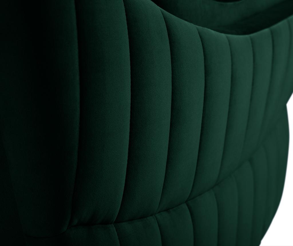 Canapea 2 locuri Elysee Bottle Green