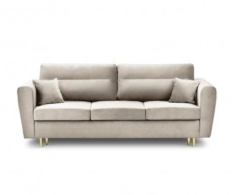 Remy Beige Háromszemélyes kihúzható kanapé