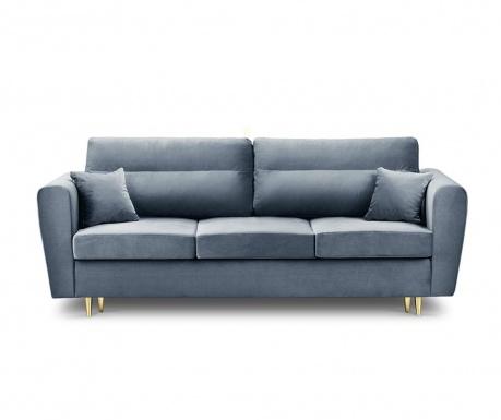 Rozkładana kanapa trzyosobowa Remy Light Blue