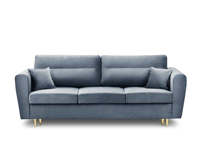 Canapea extensibila 3 locuri Remy Light Blue
