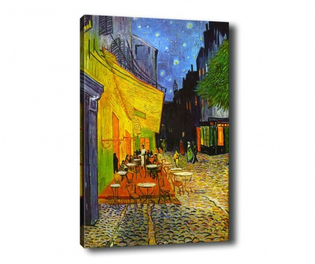 Tablou Terrace at Night 70x100 cm
