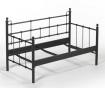 Canapea 2 locuri pentru exterior Lalas Black and Beige