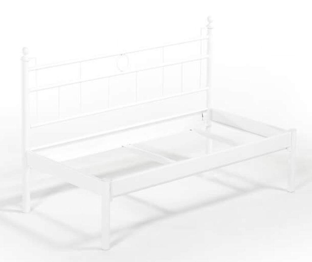 Canapea 2 locuri pentru exterior Mitas White and Dark Blue