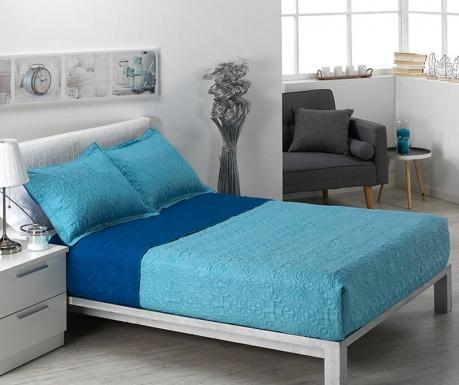 Zestaw pikowany na łóżko Single Extra Alma Pattern Blue