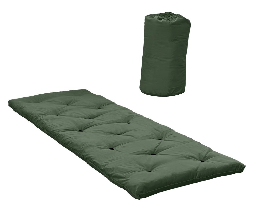 Saltea Bed In A Bag Olive Green 70x190 cm