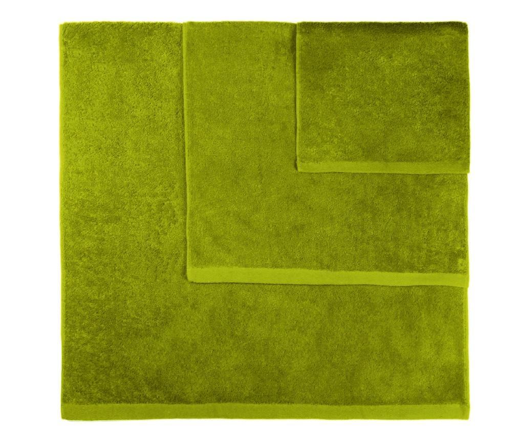 Set 3 prosoape de baie Alfa Green