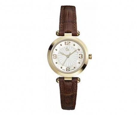 Dámské hodinky Guess Sport Chic Class Brown & Gold